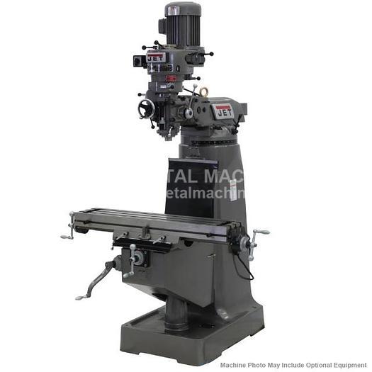 JET JTM-1 Step Pulley Milling Machine 230V 3Ph 690082