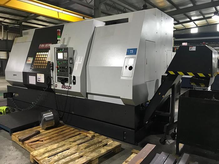 Used 2014 YAMASEIKI GS 6600L CNC TURNING MACHINE