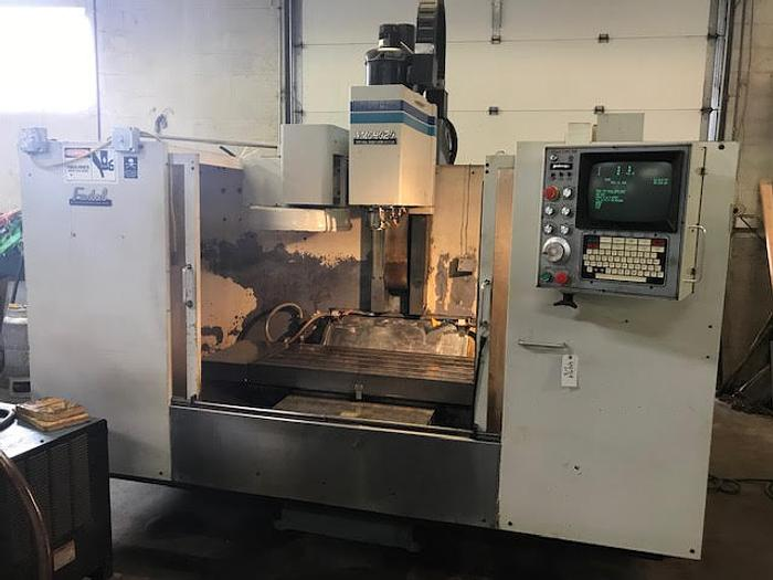1990 FADAL VMC 4020 with 4th Axis - Video