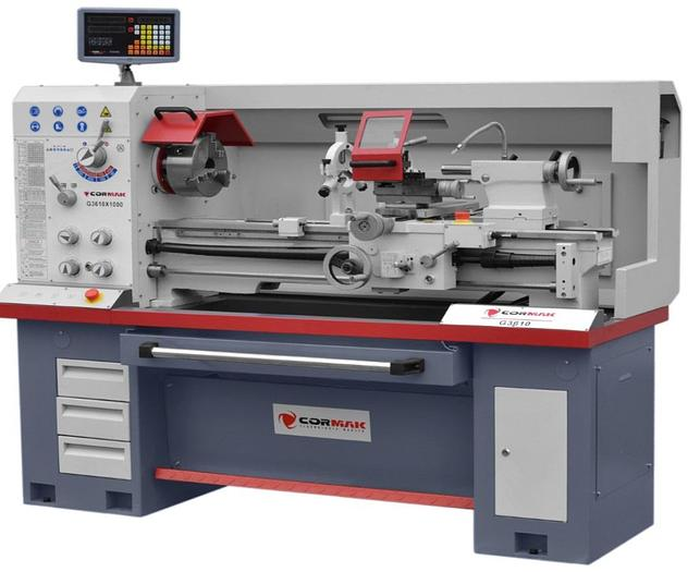 Cormak 360x1000 Premium Line Lathe - Single Phase or 3 Phase
