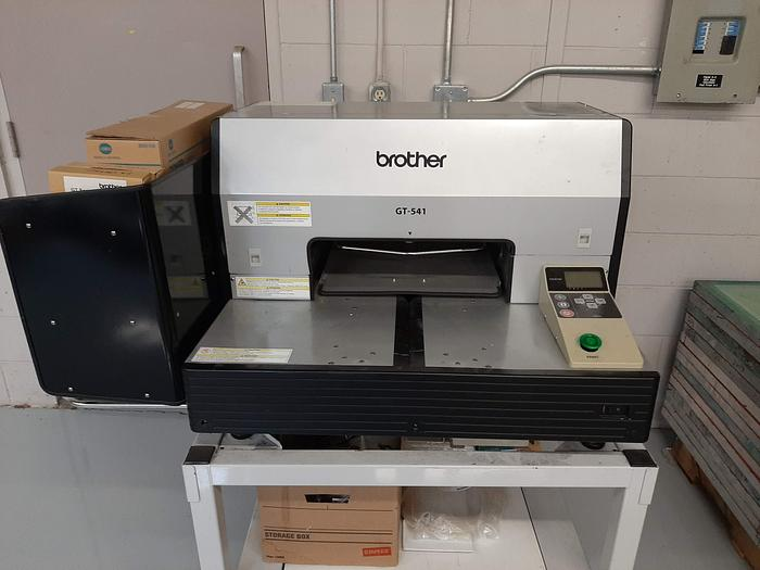 Used Brother GT-782 and GT-541 DTG Printers