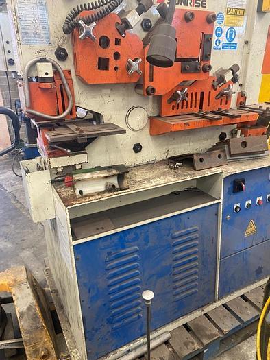 Used 2010 Sunrise IW-60H Hydraulic Ironworker/Steelworker/Metalworker