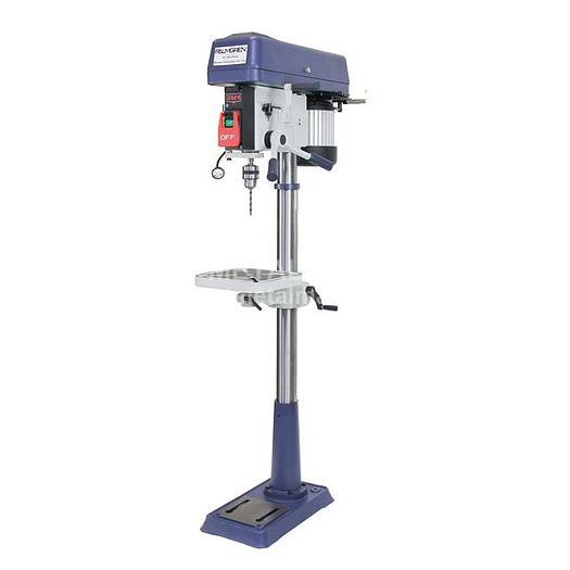 PALMGREN 16-Speed Floor Step Pulley Drill Press 9680158