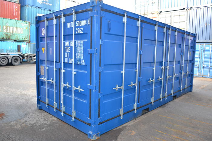 """20 'Container 8'6 """"Open Right Side"""