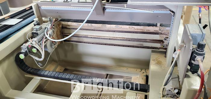 2006 Accu-Systems HPJ CNC Bore, Glue and Dowel machines