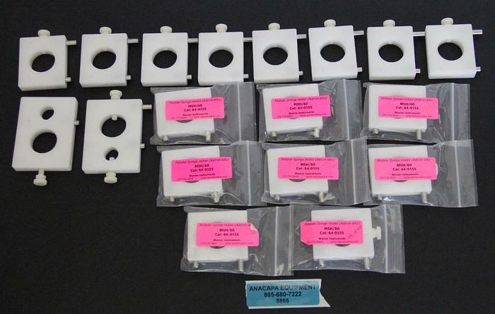 Warner Instruments MSH/60 64-0155 Modular Syringe Holder Mixed lot of 18 (8865)W