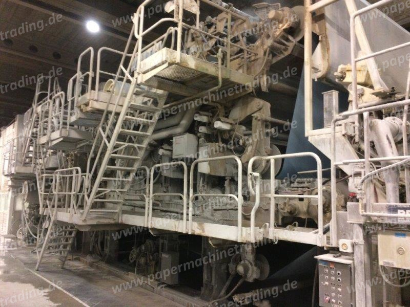 (PM4-75) - Paper Machine for Newsprint - VOITH - 4160 mm