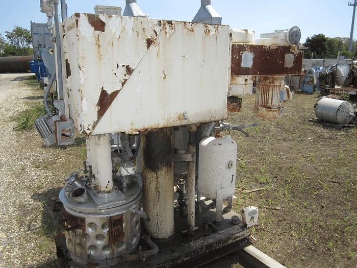 Used 10 GALLON ROSS VERSAMIX – S/S – VACUUM – JACKETED