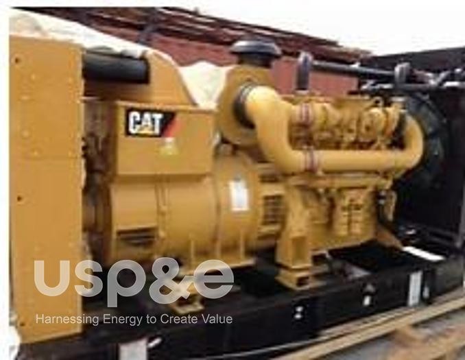 Used .60 MW 2012 USED CATERPILLAR C12 DIESEL GENERATOR SETS