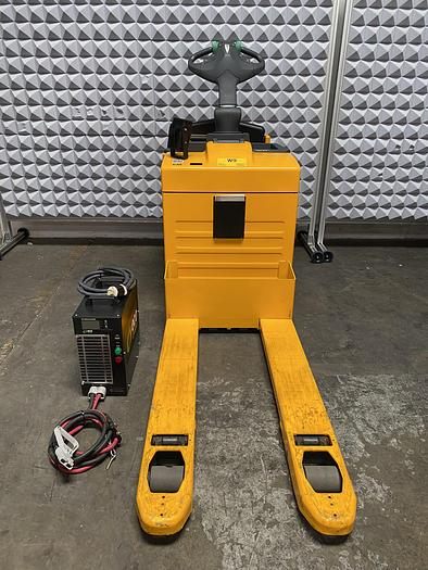 Used Jungheinrich  ERE 225 Stand-On Pallet Truck Jack 5500 LBS 50 Hours w/ Charger