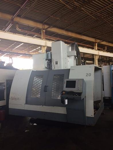 Used 2001 BRUTE VMC 63/35/35 VMC, 50 Taper,8K RPM, with 4th axis Rotary Table