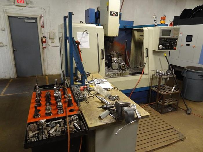 Used Mighty Comet VMC 850 CNC Vertical Milling Machine