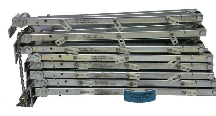 Used Jonathan Engineered Solutions CRS-30 24-00 Cable Retractor Lot of 8 (6790)W
