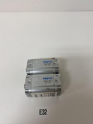 NEW FESTO PNEUMATIC CYLINDER ADVU-25-30-P-A