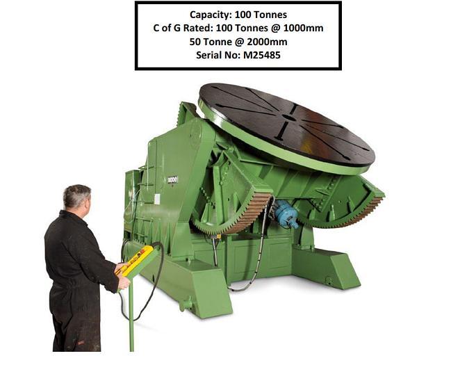 Used 100 ton Bode Welding Positioner/Manipulator