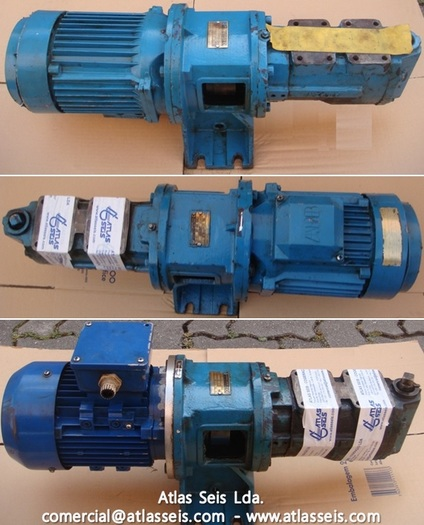 Used Azcue HFO Booster Pump BT-HM 38D2