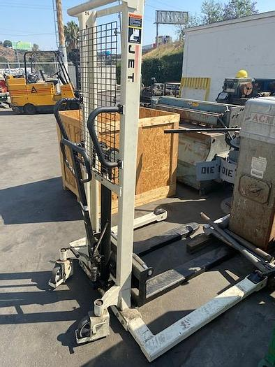 Used Jet JHS-2200A Hydraulic Stacker