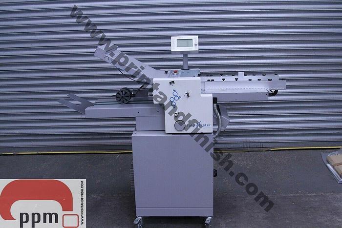 Used Eurofold / Multigraff Foldmaster Paper Folder