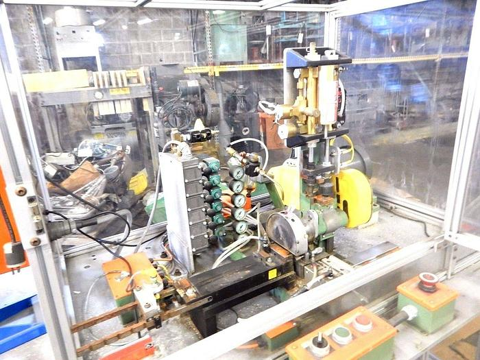 Used Automatic Rod Cutting Sawing Machine Feed & Cut Continuously cuts length