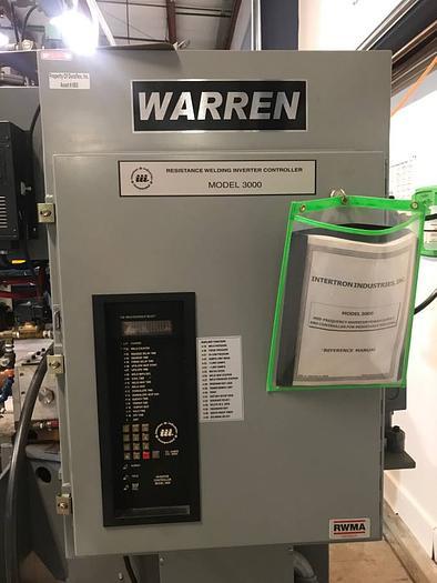 Warren/Acme Resistance Welder /Spot welder/Chiller