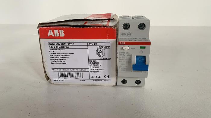 ABB F202A-25/0,03