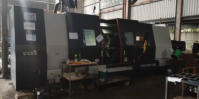 PL60LM CNC Lathe with Live tooling