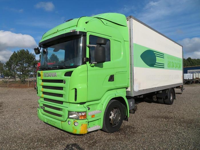 God Scania R380 4x2 Lukket kasse