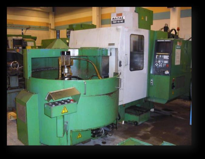 Used MV07B - Mazak VQC 15/40