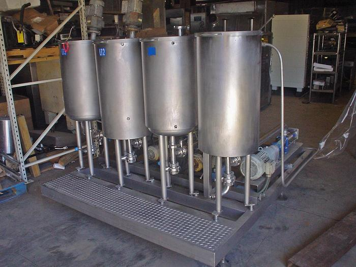 Used USED FOUR HOPPER INGREDIENT STIRRER