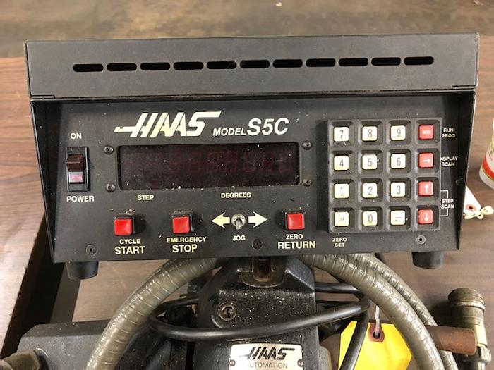 Haas 5C Programmable Indexer, Control, Cabling & Manual