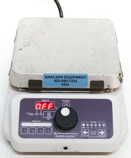 Used Barnstead Thermolyne Super-Nuova HP133425 HotPlate 30-300°C (6264)