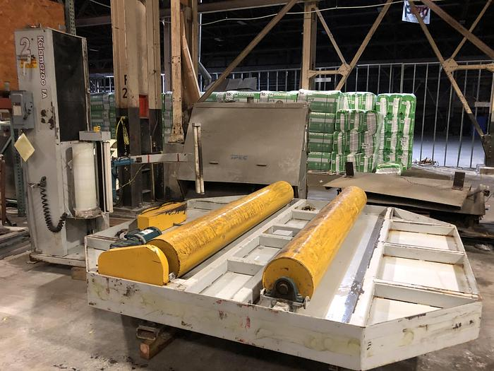 Used KALAMAZOO PACKAGING SYSTEMS MODEL 6110HFA-CW COCOON ROLL WRAPPER