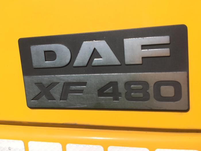 2002 DAF 95.430 XF 6x2 EURO 3 MANUAL