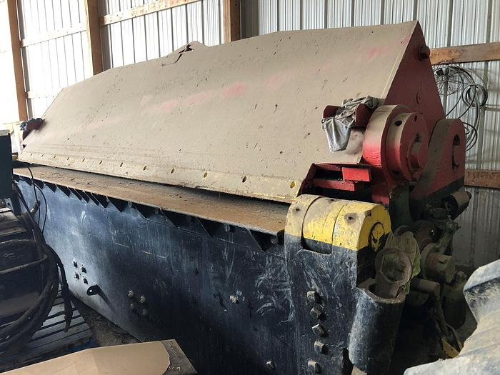 Used Chicago Dries & Krump 12' x 1/2 Power Apron Brake