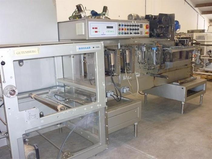 Used 2001 Bossar B-1600D Guttemberg