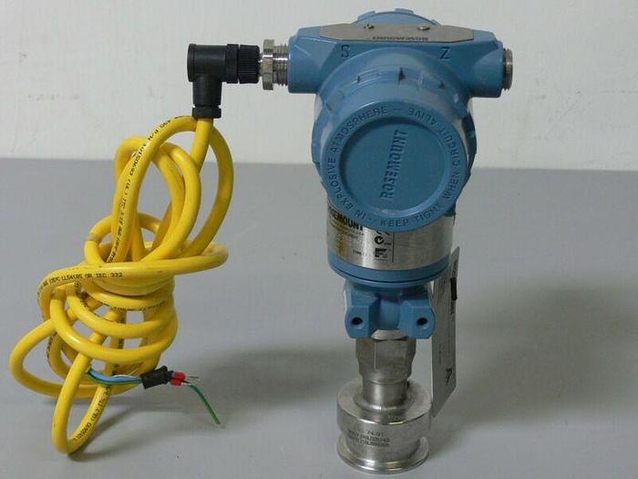 Used Rosemount Pressure Transmitter 0-100 PSI