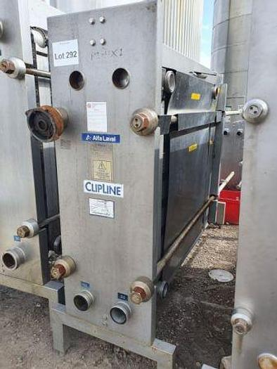 Used Alfa Laval Clip 8 RH Plate Heat Exchanger