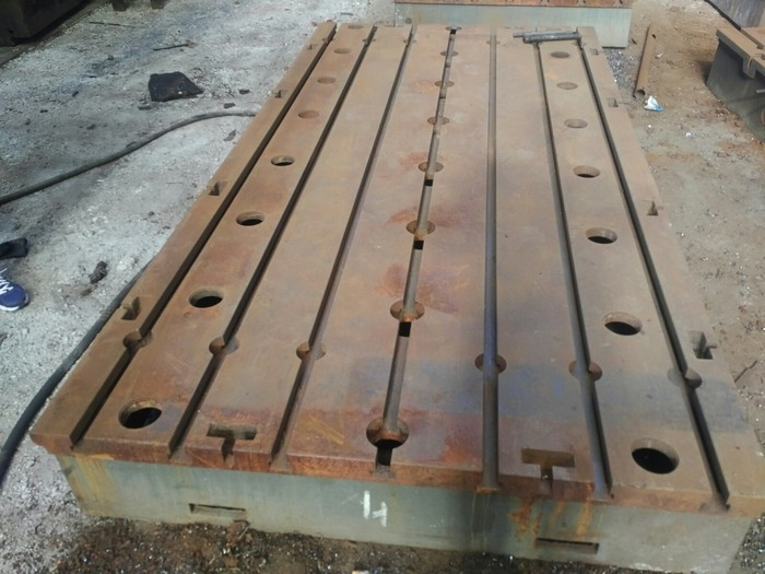Floor plates 3450x1750x350mm 6pcs.