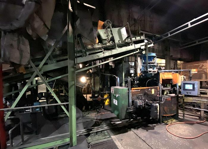 BEARDSLEY & PIPER BSM2016 MOLDING MACHINE