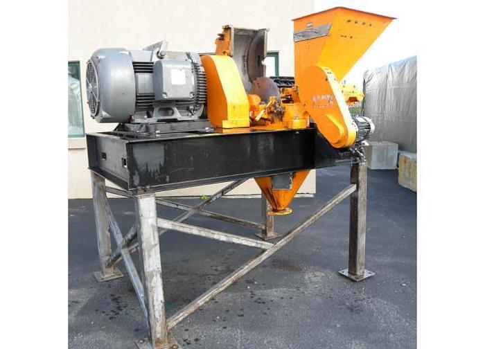 Used USED PULVA PULVERIZER HAMMER MILL , 125 H.P.