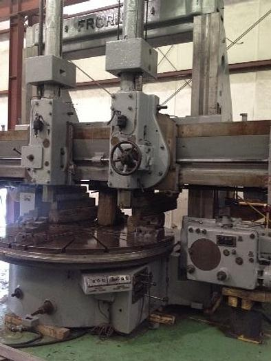 "Used 1950 Froriep 10KZ230 VBM | Two Ram Heads, 90"" 4-Jaw Chuck, 95"" Swing, 70"" UR, Side Head"