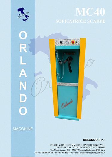 MC40 SOFFIATRICE SCARPE / BLOW MOULDING MACHINE