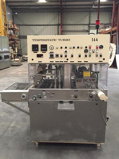 Used Sollich TTS520 chocolate enrober