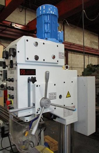 """NEW"", DRILLMASTER, 1-3/8"", GEARED HEAD DRILLING MACHINE W/POWER QUILL FEED & AUTO TAPPING CYCLE"