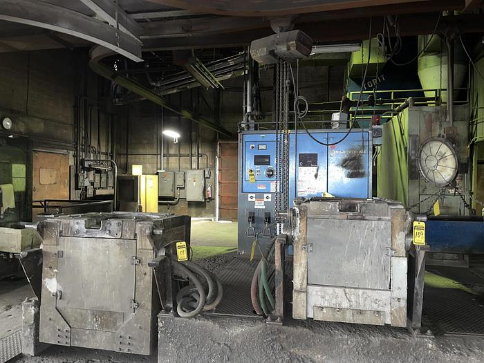 Used INDUCTOTHERM VIP INDUCTION 200 KW FURNACE