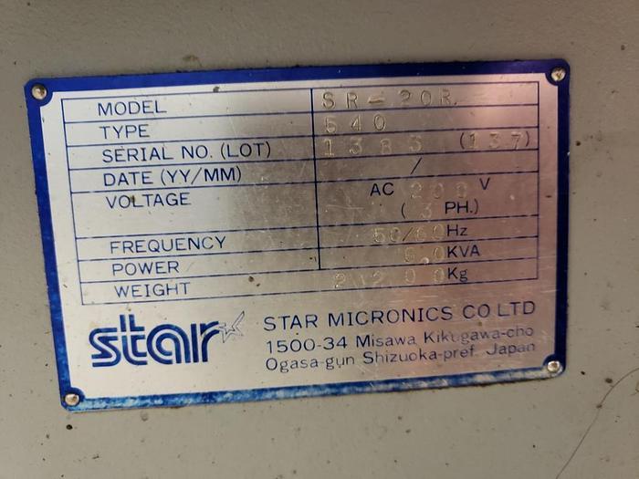 2004 Star SR20R