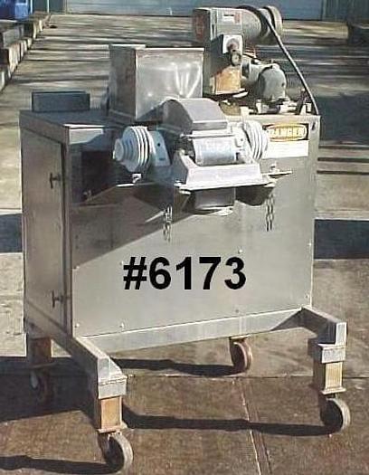 Used UASO-6 FITZPATRICK SCREW FED HAMMERMILL – S/S