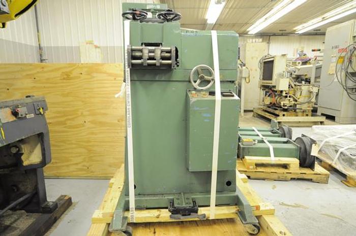Used BRUDERER MODEL 24 320 DOUBLE STRAIGHTENER/LEVELLING MACHINE