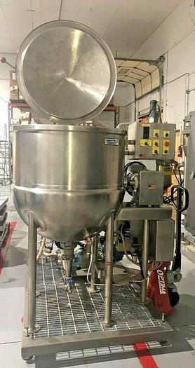 Used Process Systems Inc Processing System, Mixing Tank/Pump/Filter