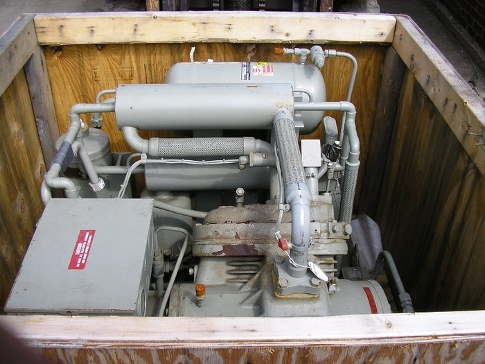 Koch Process Helium Compressor 1400